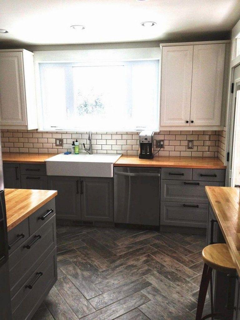 80 Beautiful Kitchen Backsplash Decor with Dark Cabinets kitchen