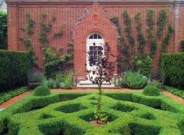 Knot Garden Design Ideas Pictures Remodel And Decor Parterre Garden Traditional Landscape Garden Hedges