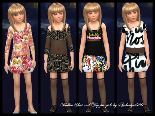 Sims 4 Coco Girl Outfits Fashion Clothes Design