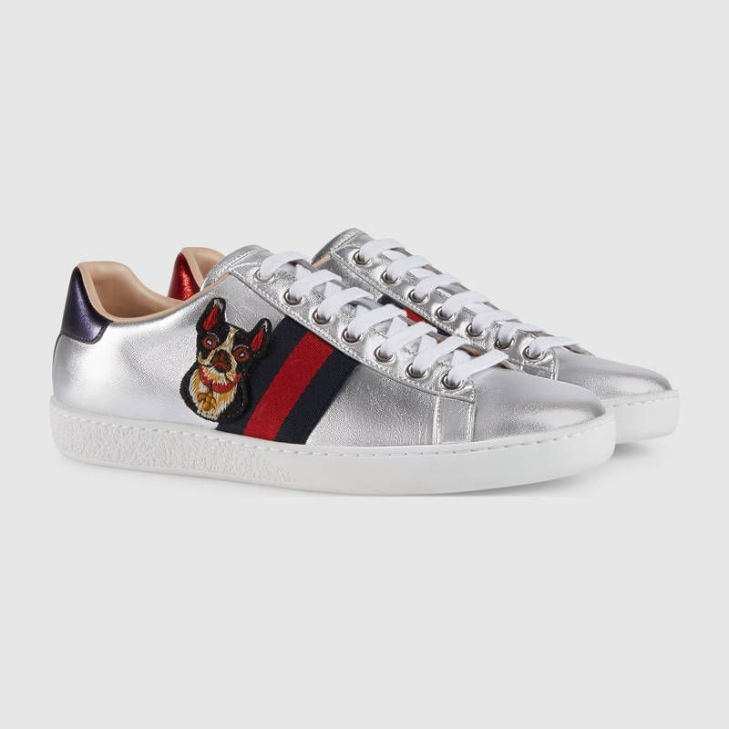 2166dc91b125 Women s Ace embroidered sneaker   Pinterest   Gucci, Sneakers women ...