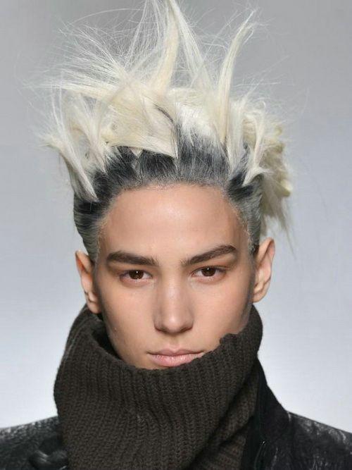 Men Punk Hairstyles Tumblr Rock Hairstyles Punk Hair Mens Hair