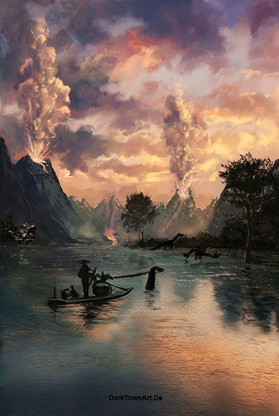 Artstation Landscape Paintings And Studies Anne Pogoda