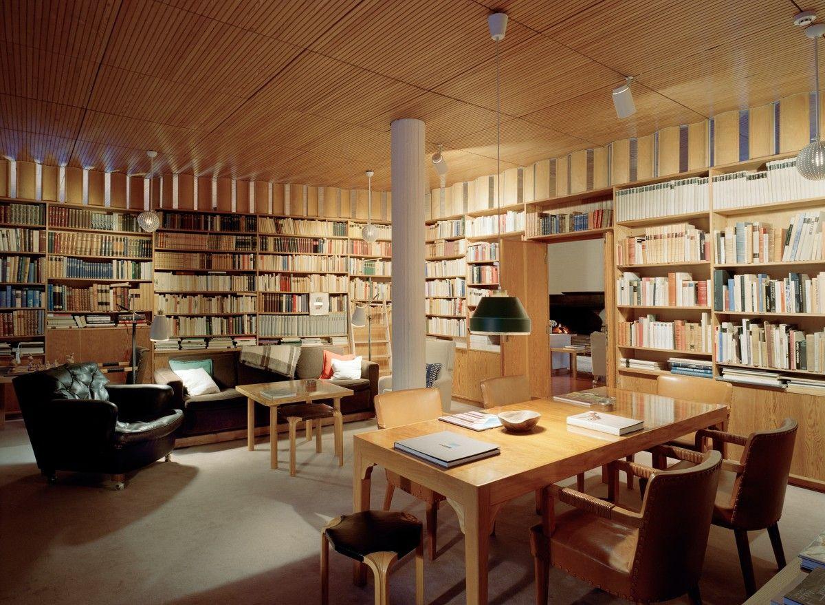 Villa mairea norrmarku finland alvar aalto lindman for Villa maria interior design