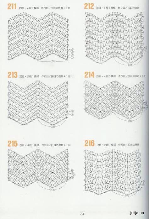 Esquema crochet | Motivos de crochet | Pinterest | Esquemas, Puntos ...