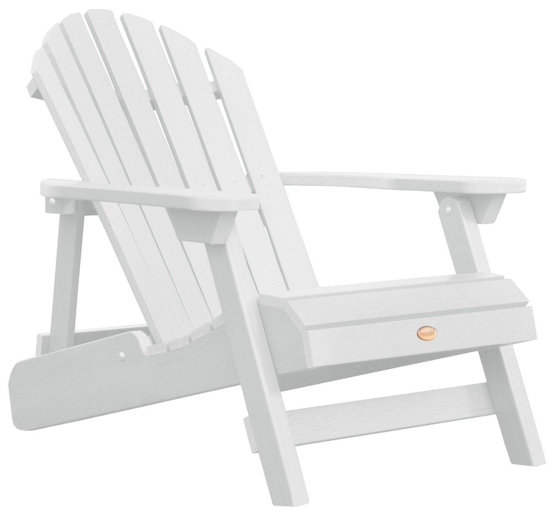 Highwood ADIRONDACK- Butaca reclinable y plegable de madera ...