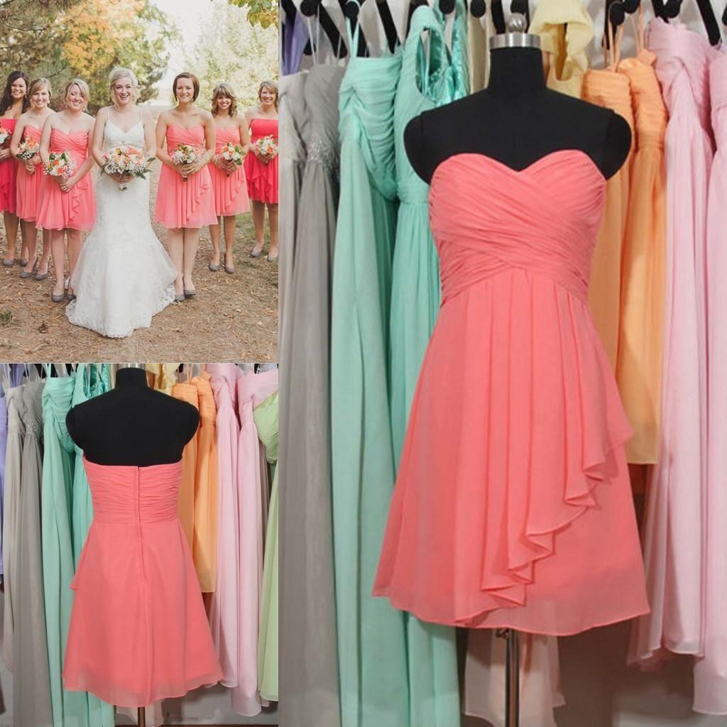 Rustic Beach Wedding Dresses Short