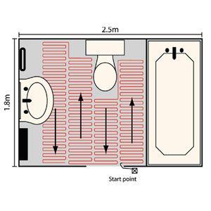underfloor heating cost - http://www.heatthat.co.uk ...