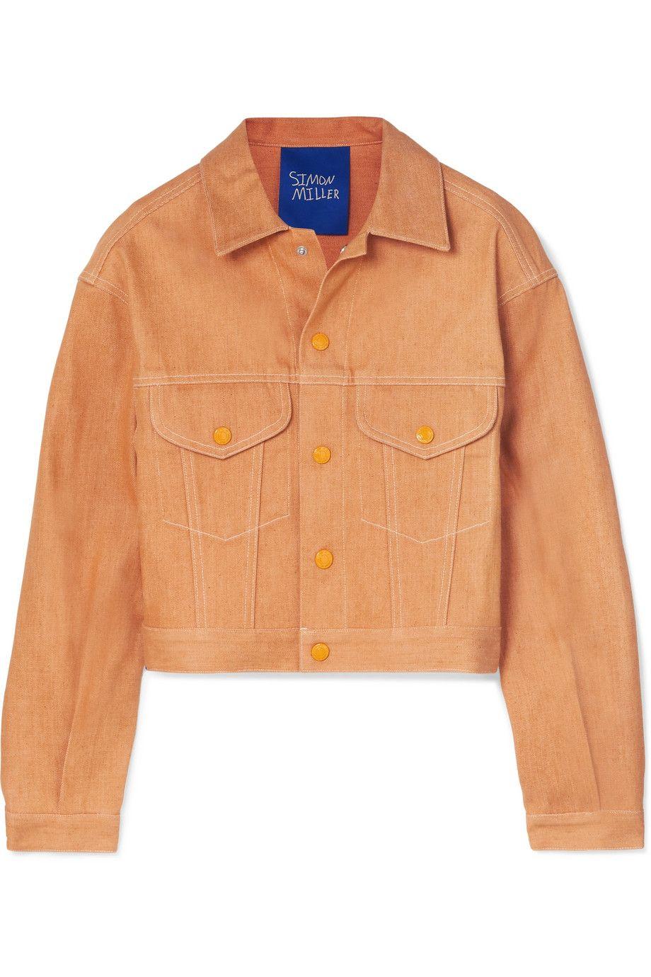 Simon Miller Morgo Cropped Denim Jacket Net A Porter Com Cropped Denim Jacket Denim Jacket Cropped Denim [ 1380 x 920 Pixel ]