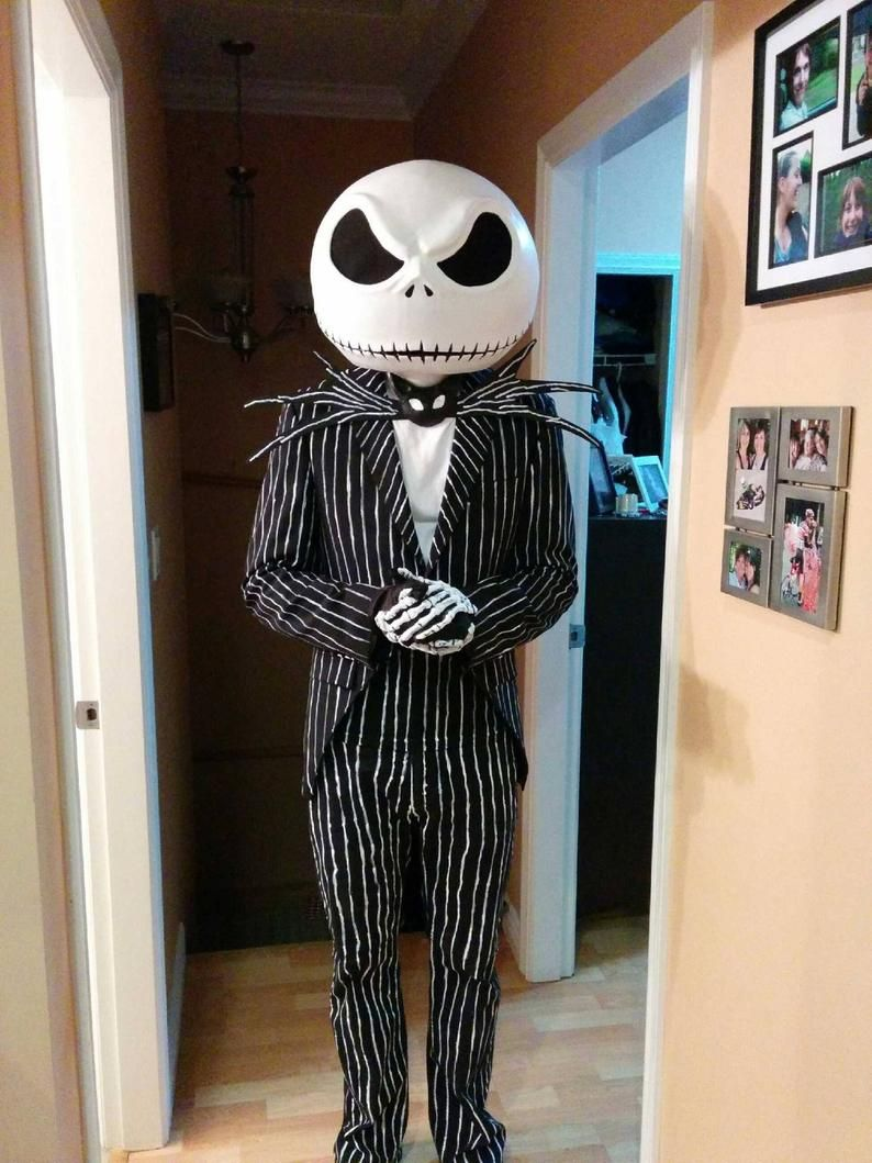 Jack Skellington Mask and Bow Tie in 2020 Nightmare
