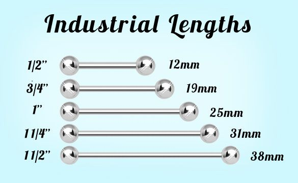 Industrial Barbell Standard Lengths Emerald Earrings Studs Pink