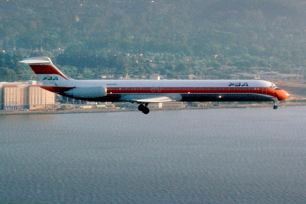 PSA (Pacific Southwest Airlines) 727200 in 2020