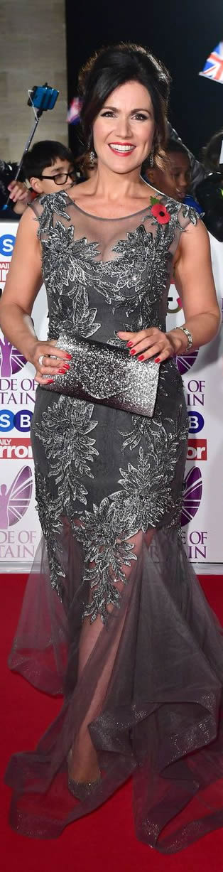 Susanna Reid The Pride Of Britain Awards 2017: #Celebrity #RedCarpet arrivals
