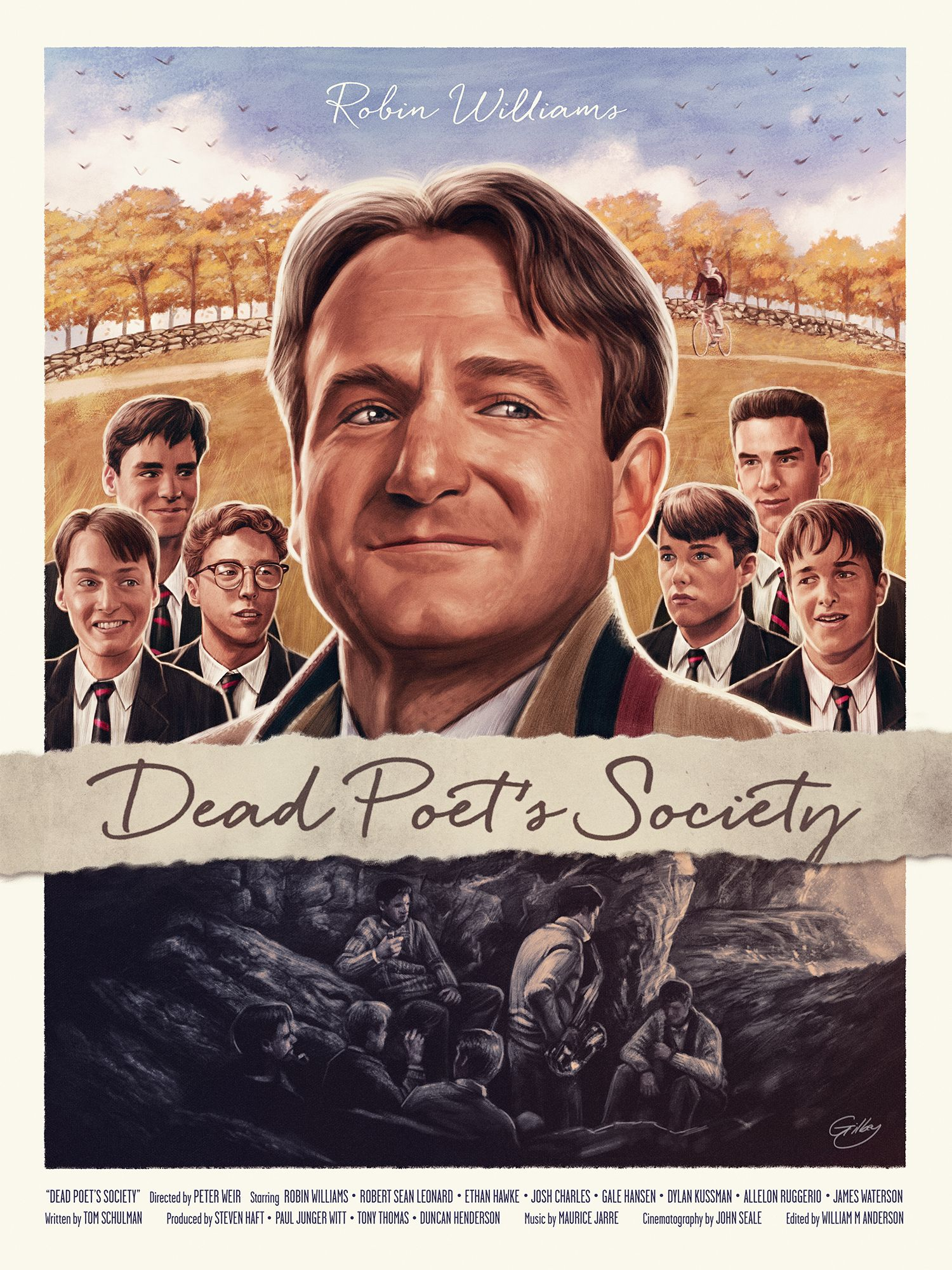 Dead Poet S Society Illustration With Images Dead Poets Dead