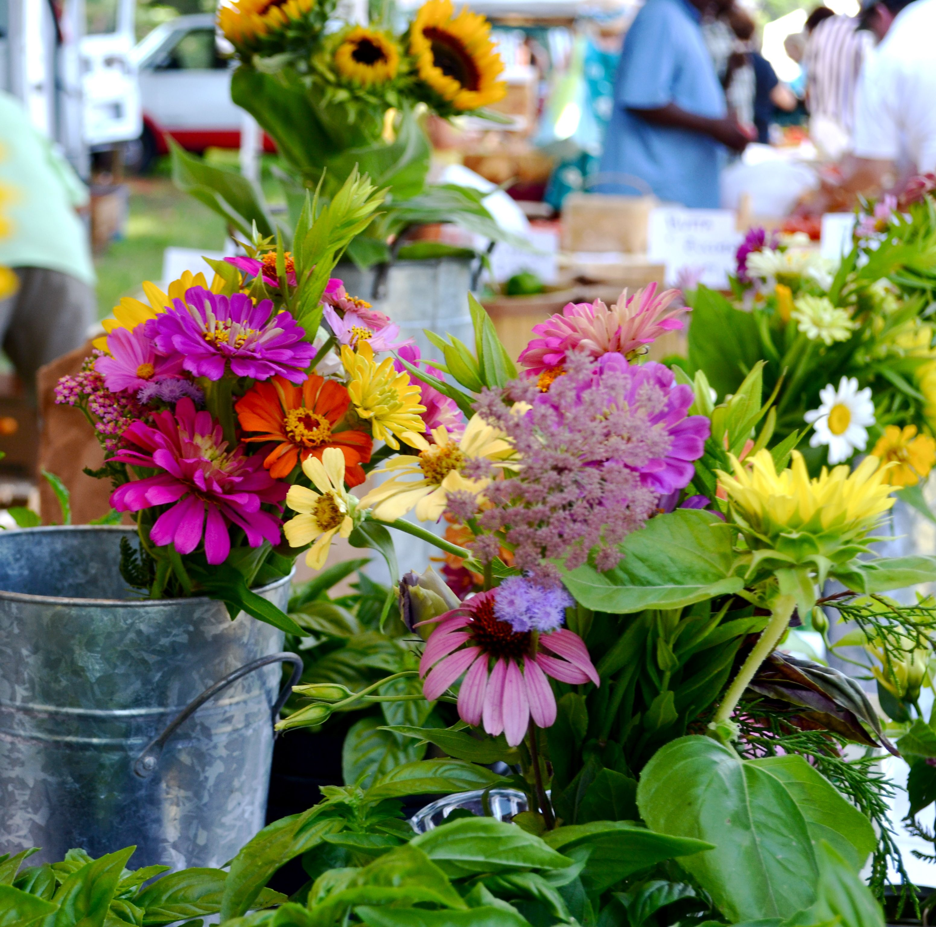 Fresh Flowers, Farmers Market