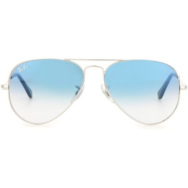 69b6c609cc3cb Ray-Ban RB3025 Aviator Sunglasses ( 170) ❤ liked on Polyvore featuring  accessories