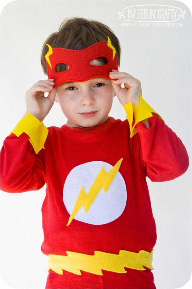 The Flash Costume | Flash halloween costume, Diy costumes ...