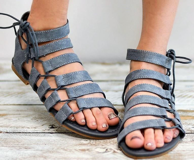 cc8a9deab Women s Gladiator Casual Flat Sandals