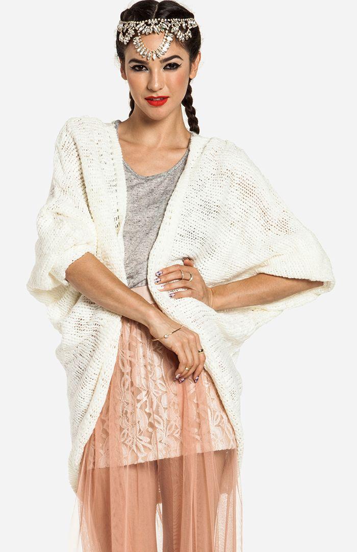 Oversized Dolman Sleeve Sweater