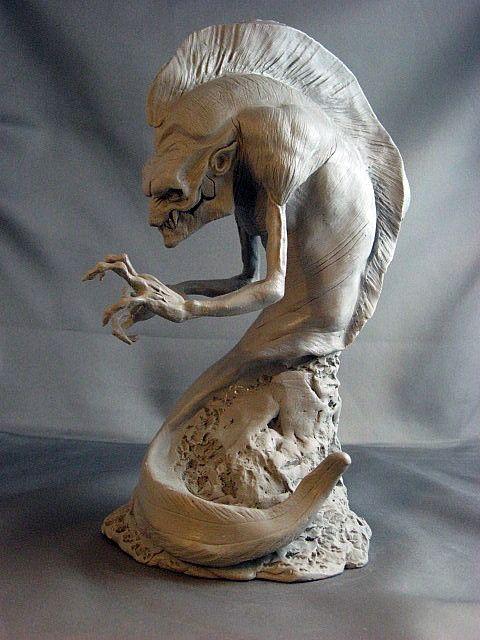 Mudpuppy WIP1 by Blairsculpture.deviantart.com on @deviantART ...