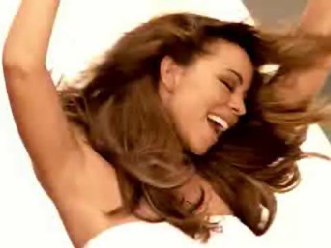 mariah-carey-honey-sexy-topless-rollerblade