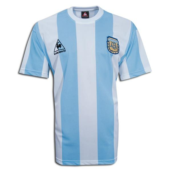 Special Editions Le Coq Sportif Argentina 1986 WC shirt Vintage Le Coq  Sporting 1986 Argentina World