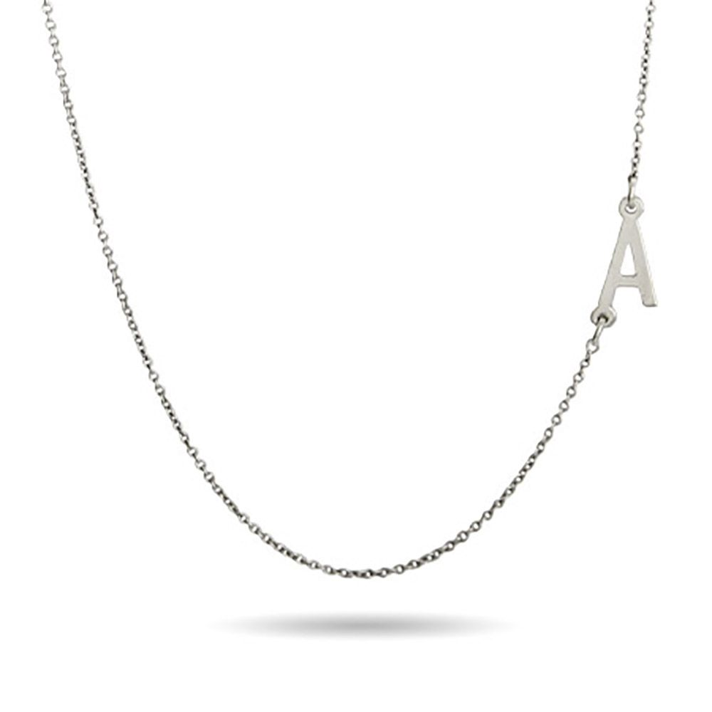 initials pin wear add our handwritten or chain one to is multiple a single necklace initial chains