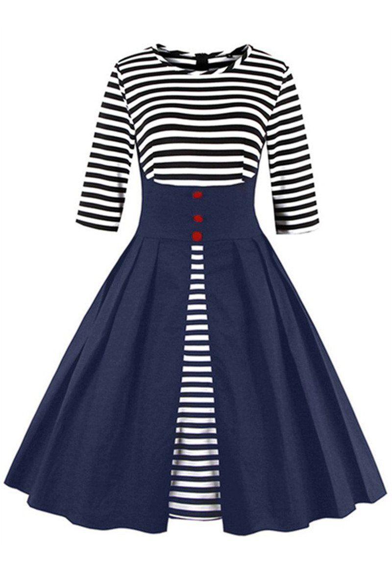 c9925879473d Chicloth Vintage Dress Audrey Hepburn 50s 60s Women Plus Size