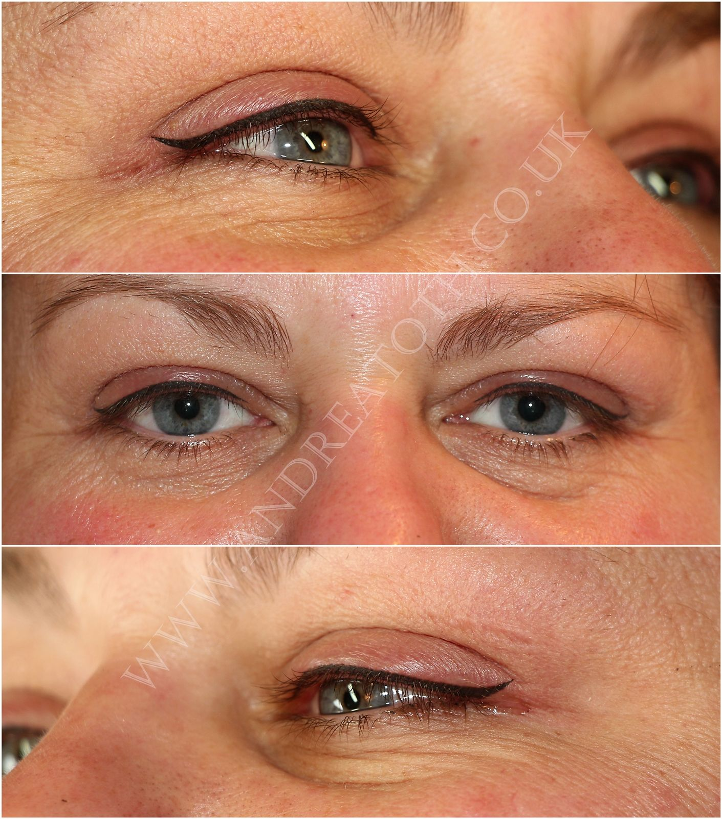Upper Eyeliner Semi Permanent Makeup Permanent makeup