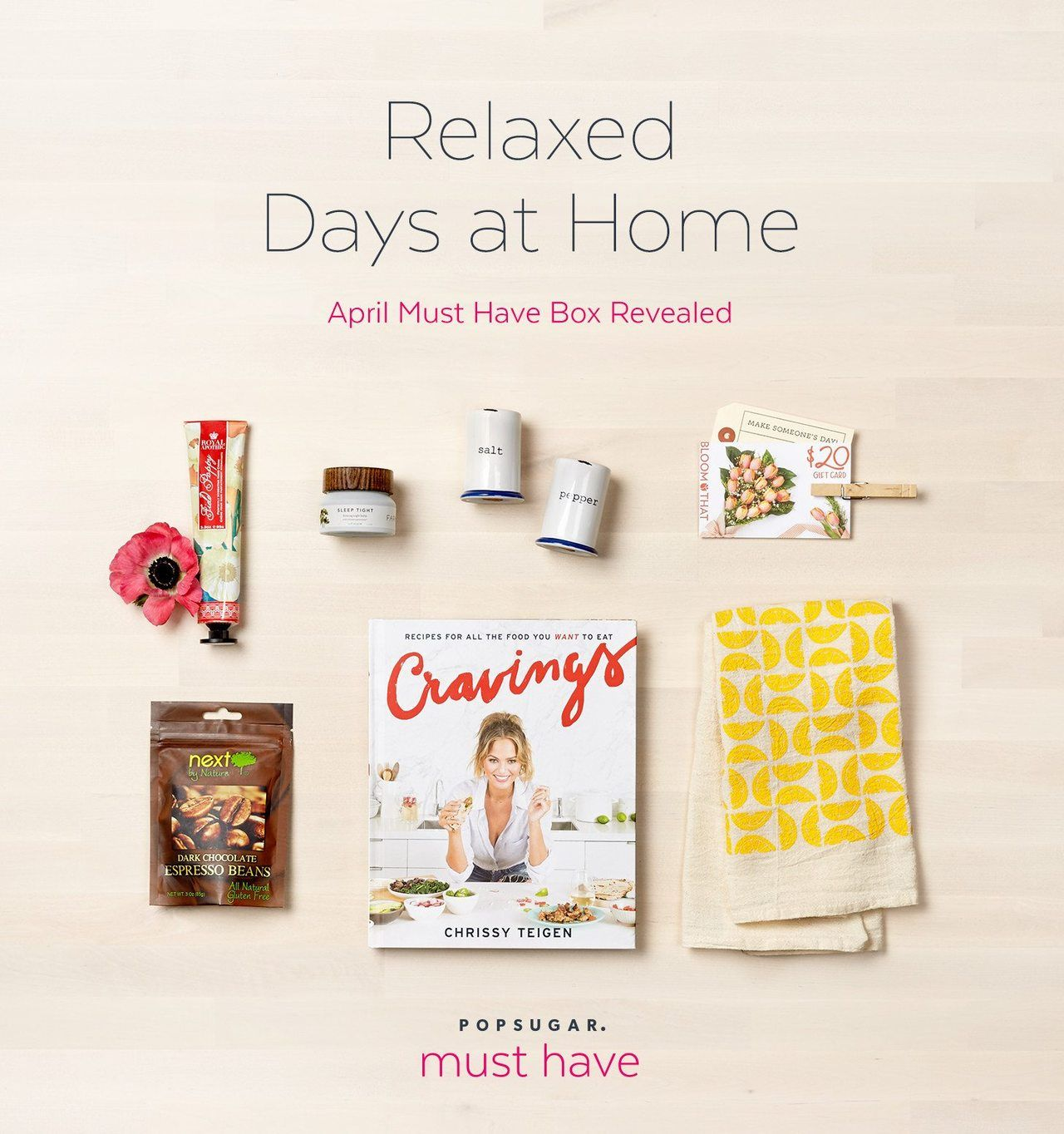 April 2016 POPSUGAR Must Have Box Reveal Subscription