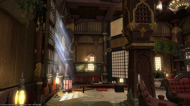 My Ffxiv Apartment In 2020 Small Apartment Room Apartment Room Loft Stairs