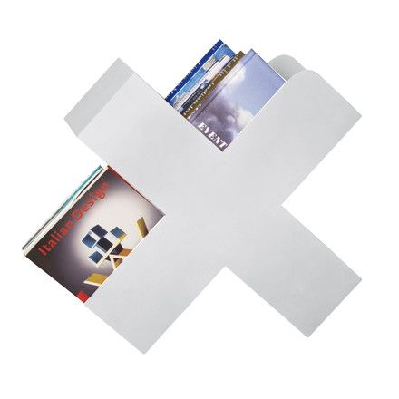 Bukan Zeitschriftenhalter Weiß Zeitschriftenhalter