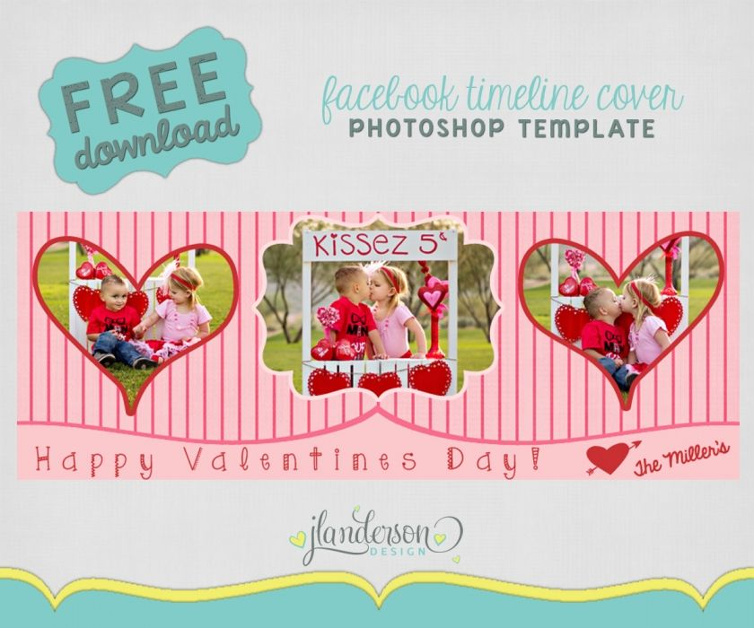 Fb Timeline Templates January Freebie Free Valentines Day Facebook
