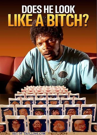 """""""What does Marsellus Wallace look like?"""" <3 Pulp Fiction! @Bianca Avila"""