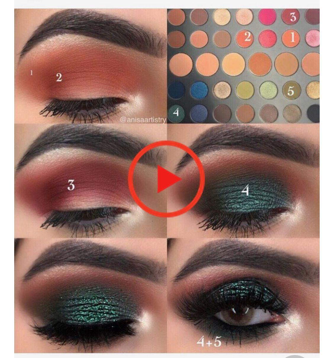 Name That Palette Eth Curren Eyeshadow Makeup