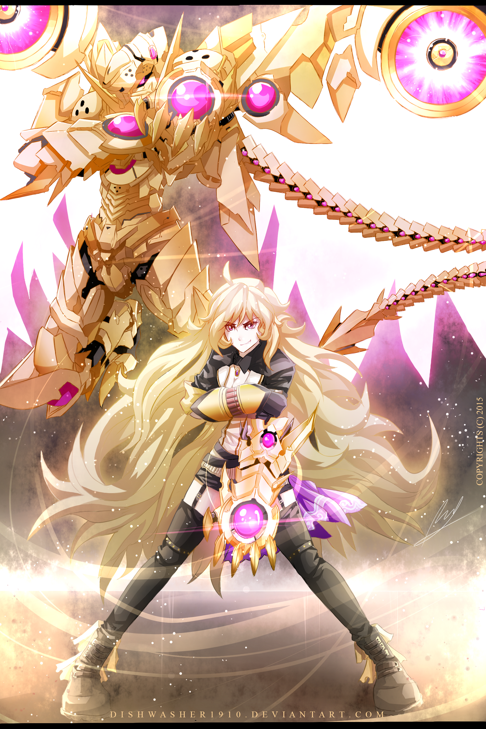 Sunny Dragon Balance Breaker   RWBY