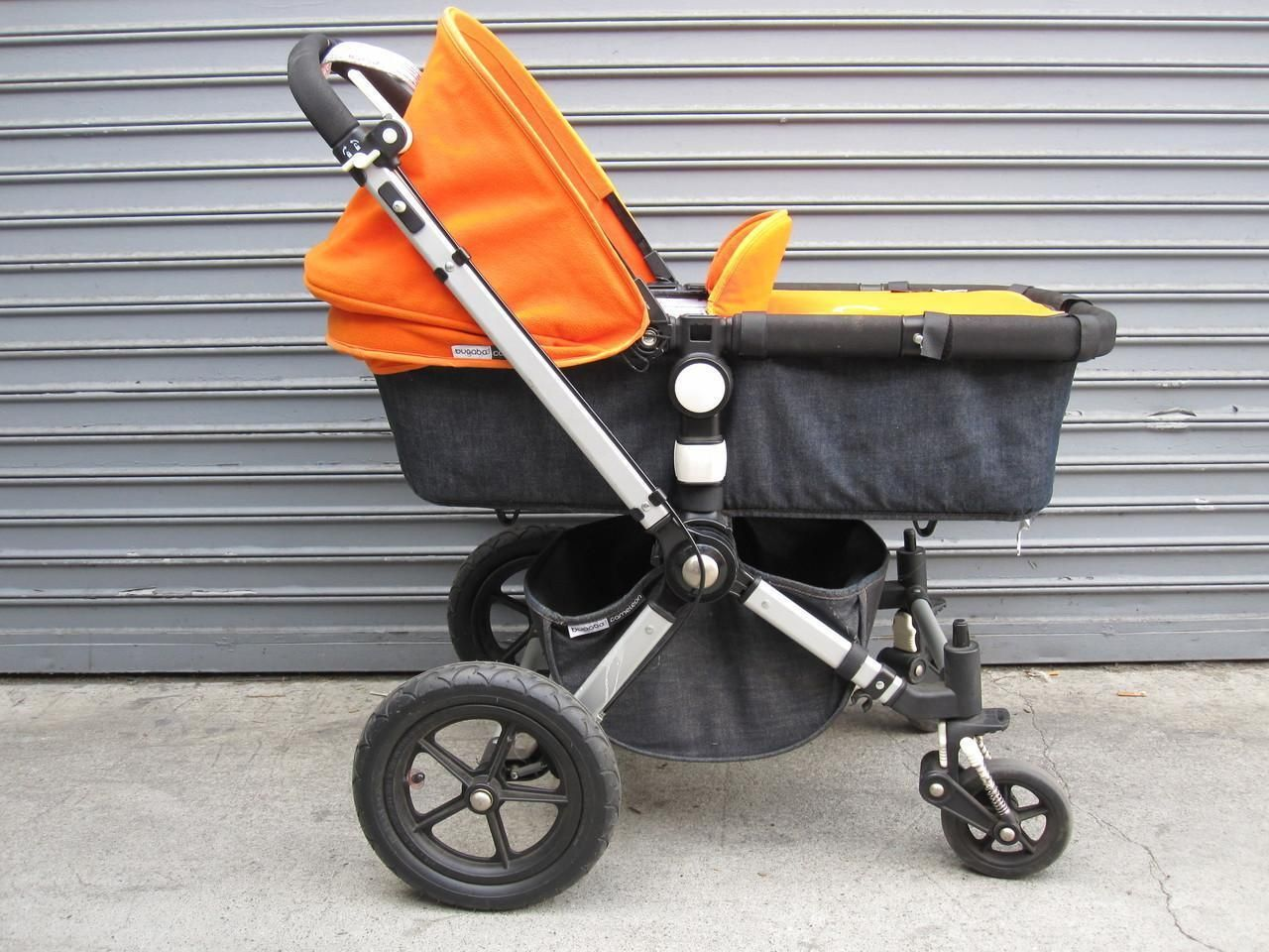 Bugaboo Special Edition Denim 007 Stroller (Tangerine