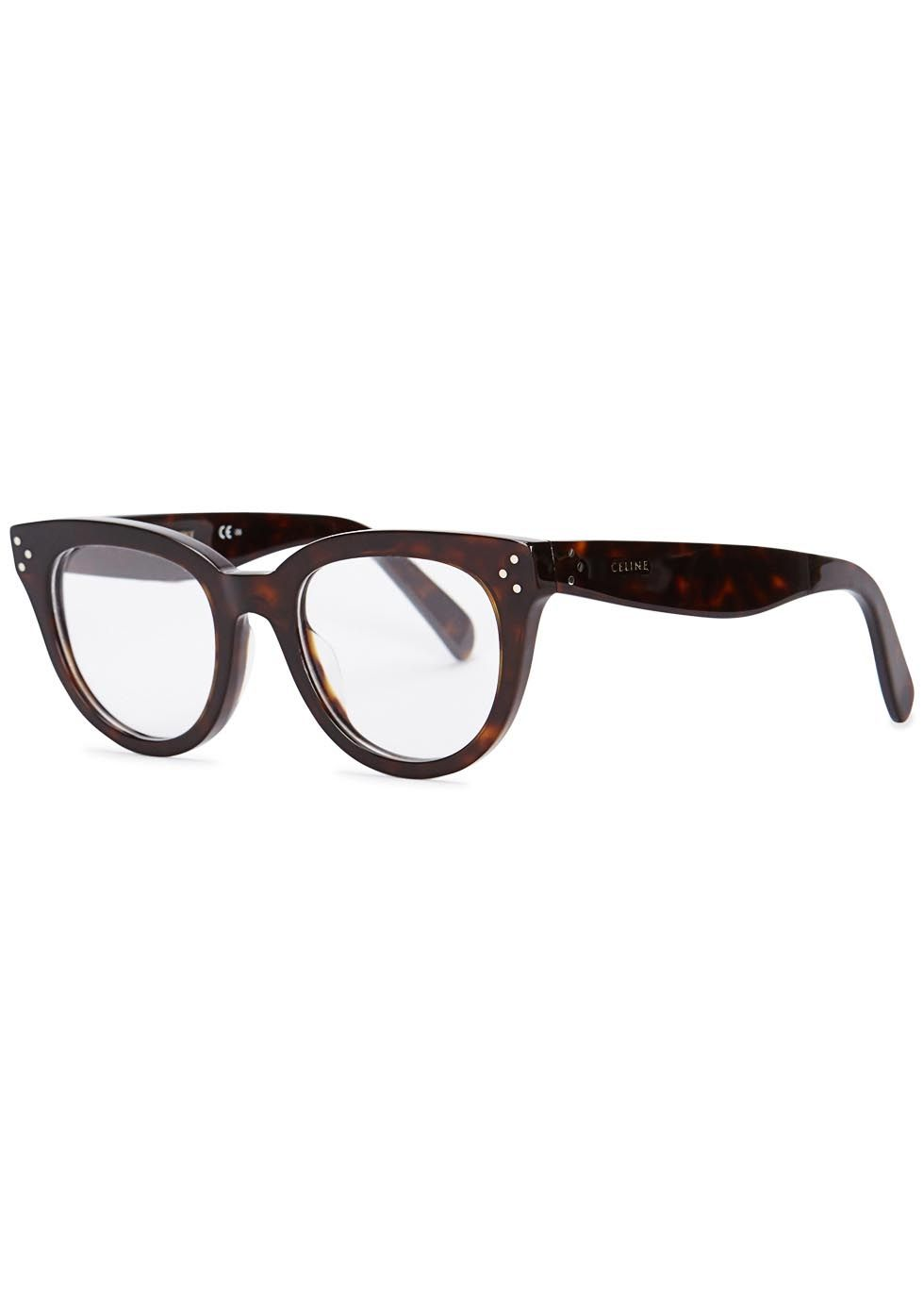ee802ed4d32 Céline tortoiseshell acetate optical glasses Can be fitted with prescription  lenses Designer-stamped arm