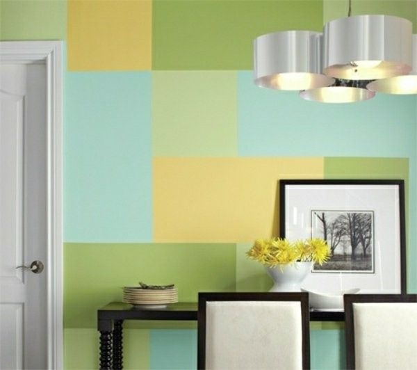 wall color combination green blue | http://room-decorating-ideas.com ...