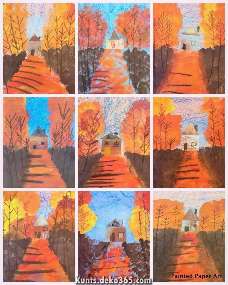 Photo of Fantastic Fall Van Gogh art project for the best of kids