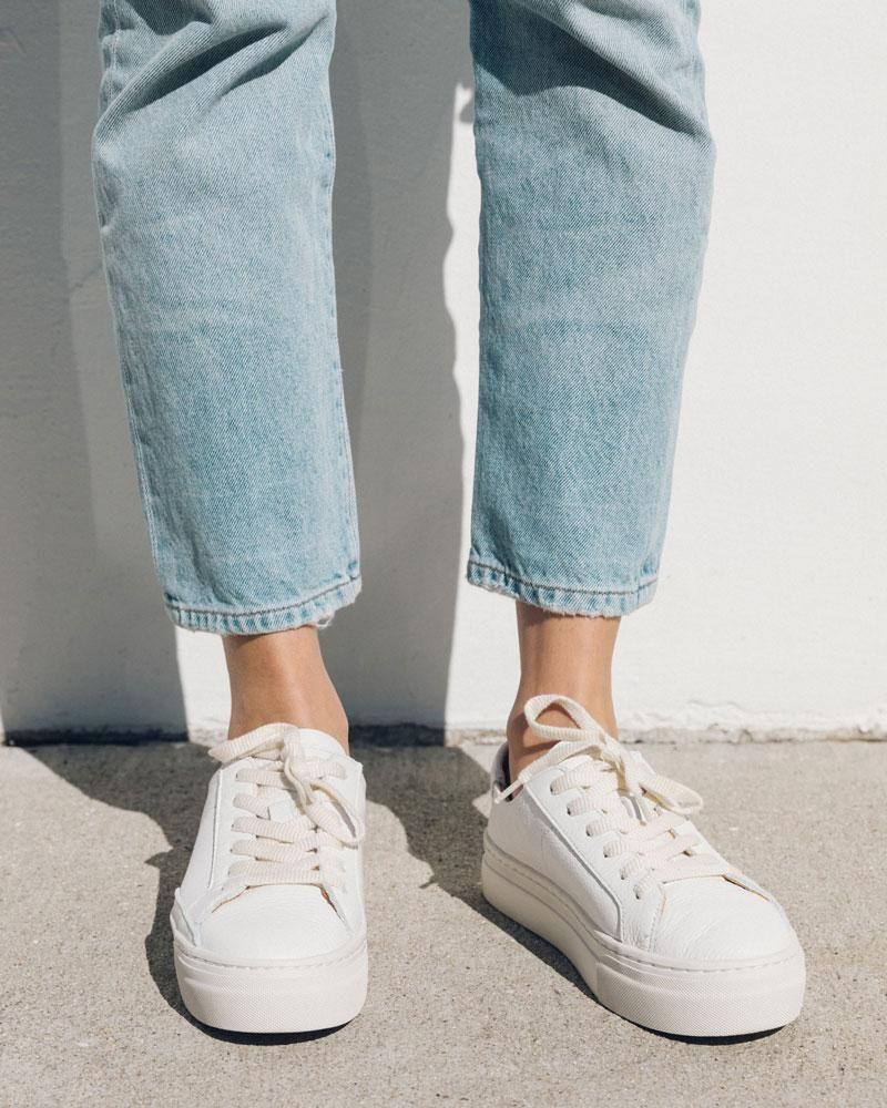 Ibiza Platform Sneaker in 2020 | White