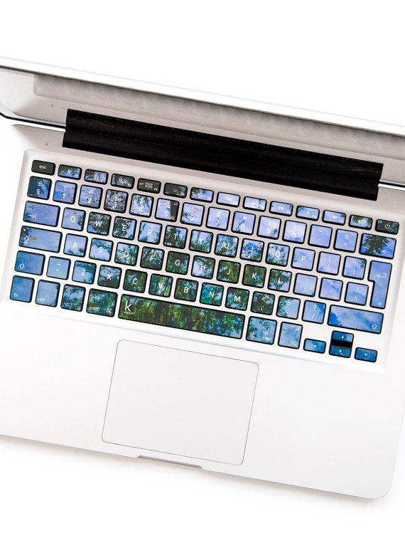 Water tree stardust macbook keyboard stickers dell macbook decal keyboard sticker macbok air pro retina hp lenovo sony wireless galaxy