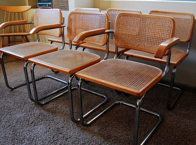 Our Mid Century: Breuer Cesca Chairs
