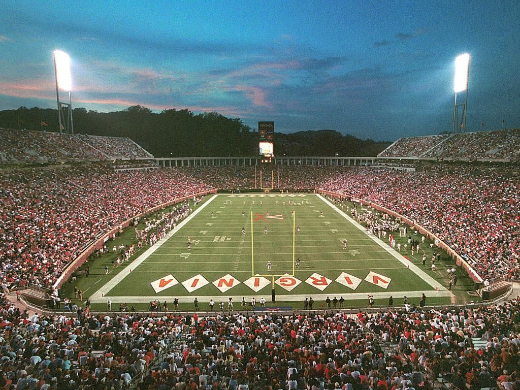 Scott Stadium Charlottesville Va Spent Many An Afternoon Here