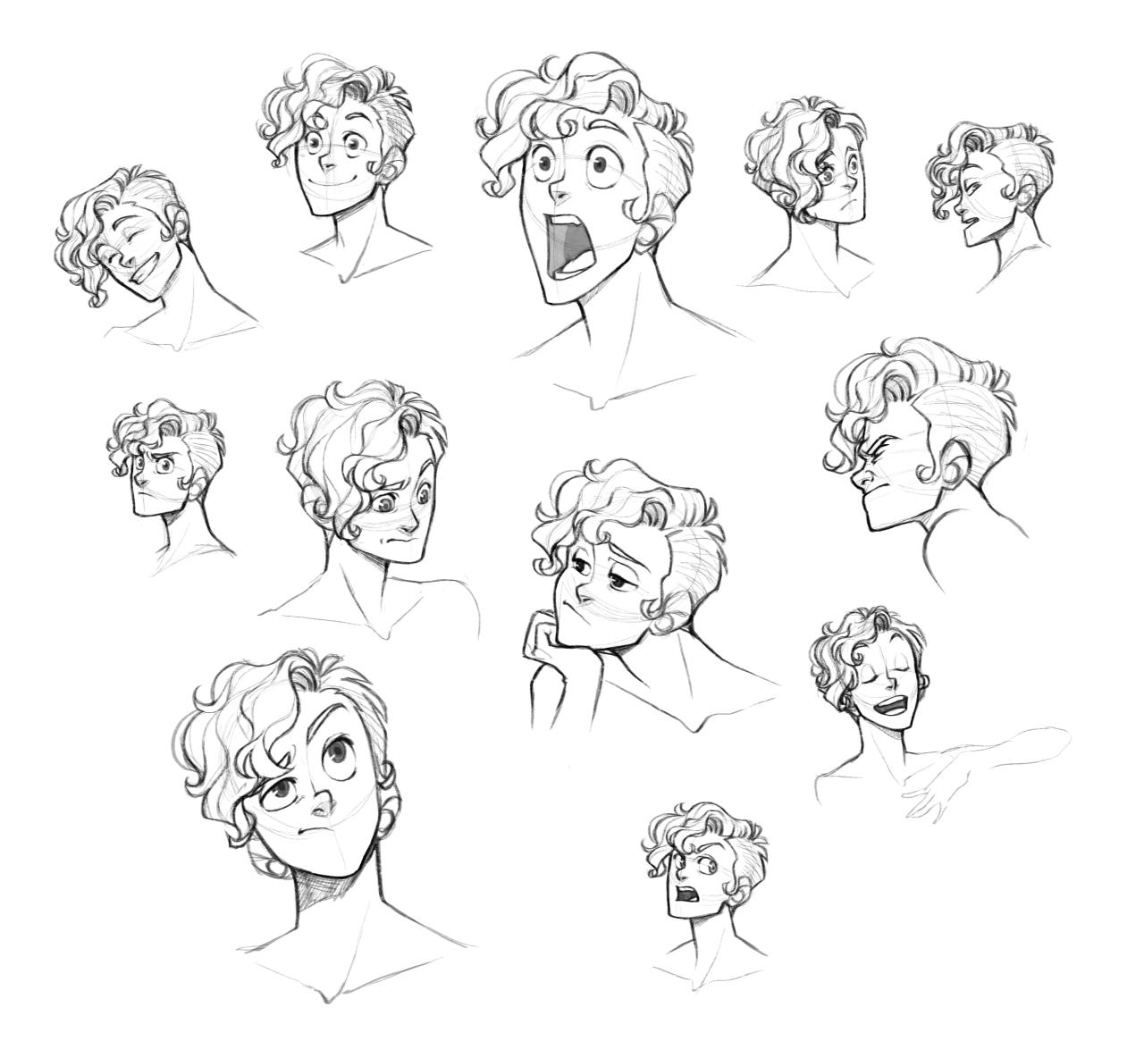 0 Aredhel 0 Boy Hair Drawing Cartoon Hair Curly Hair Drawing