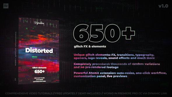 Glitch Pack Logo Reveal Glitch Videohive