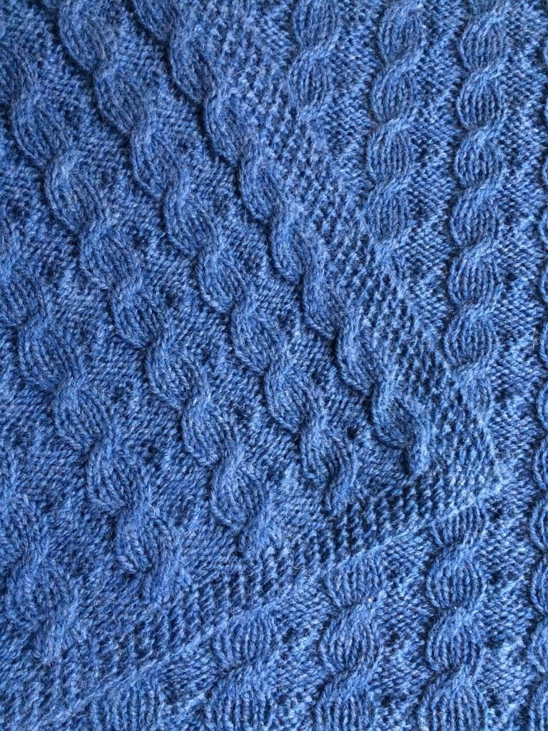 Reversible Cable Knitting Patterns | Knit patterns, Cable and Blanket