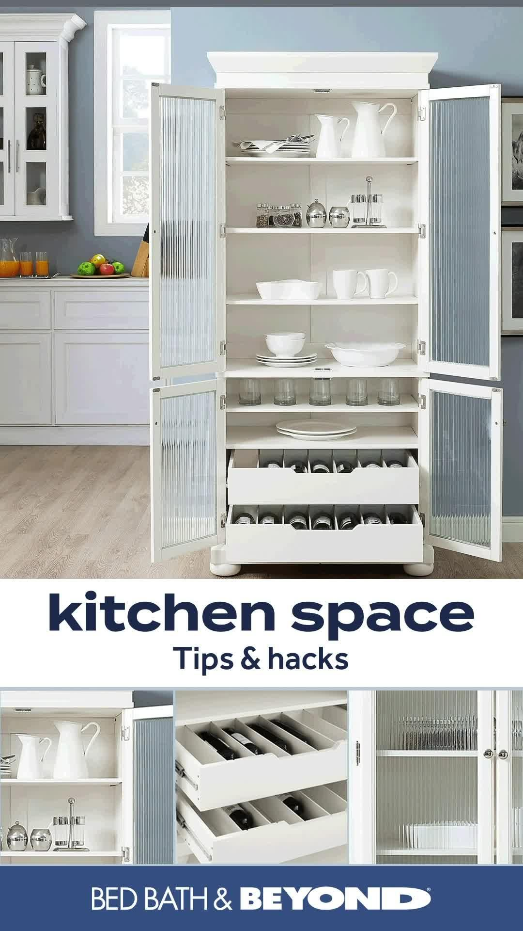 Kitchen Storage | Pot Rack | Paper Towel Holder | Bed Bath & Beyond