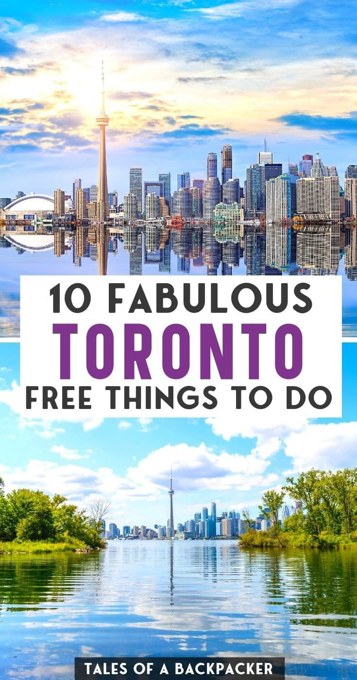 Toronto Free Things to do - Want to enjoy Toronto on a Budget? Check the best free things to do in Toronto Canada to help you make the most of the city without breaking the bank! #Toronto #Canada | Toronto for Free | Cheap Things to do in Toronto Canada
