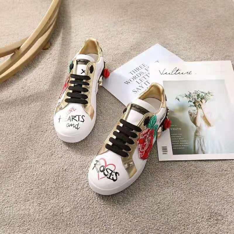 Dolce Gabbana D\u0026G Women Sneakers in