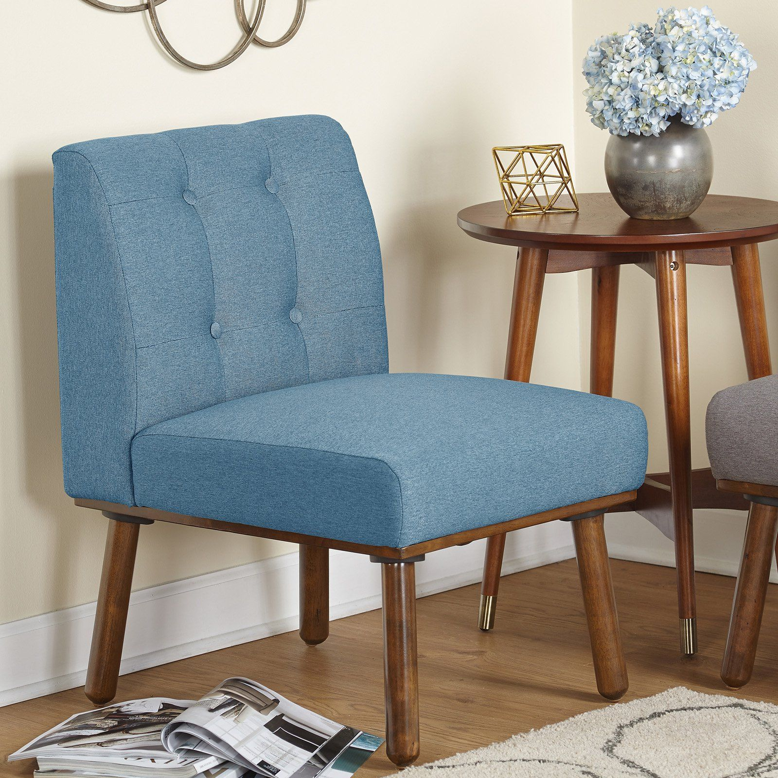 Best Target Marketing Systems Playmate Armless Accent Chair 400 x 300